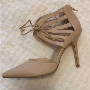 Heeled shoes, BCBGeneration, Size 8, Color Nude.